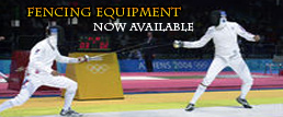 Fencing gear at the Sports Fight Club