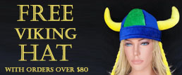 Free Viking hat offer