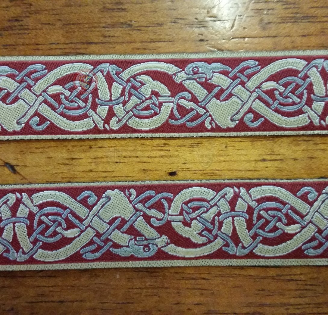 24mm Norse endless dog weave