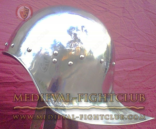 Open Sallet with curved tail