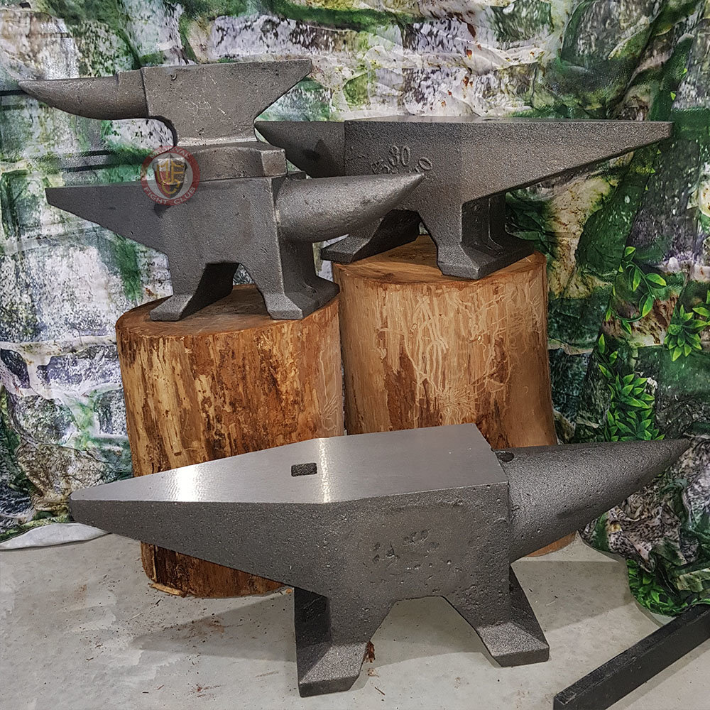Group of anvils