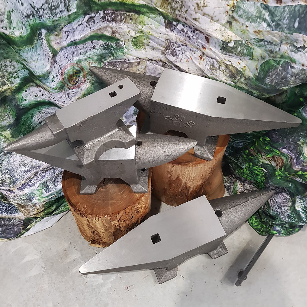 Anvils with hardy hole