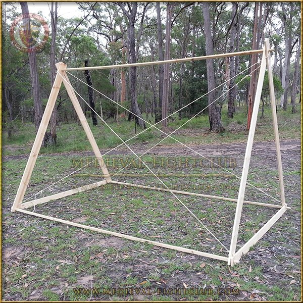 Early Medieval Viking A Frame Tent For Re Enactment Living