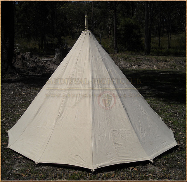 Conical (Bell) Tent Rear