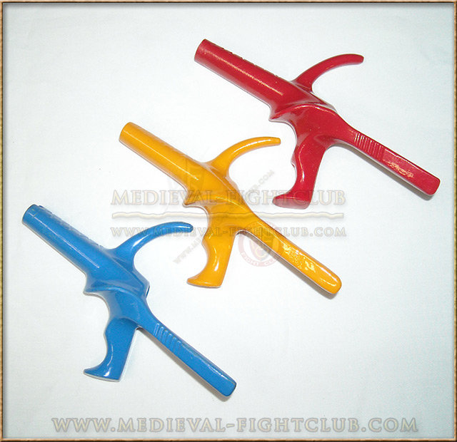 Pistol grips for fencing - coloured