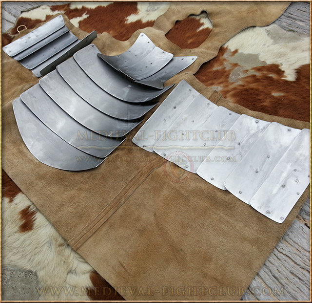 Visby coat of plates - 1.2mm steel
