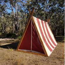 Red and White Viking A-Frame Alternate Angle