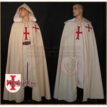 Crusader Tunic and Cloak (Templar)