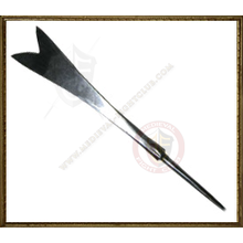 Forked and tanged arrowhead - Forge Black