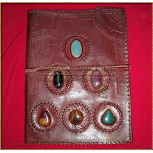 Leather Journal 34cm x 26cm - spellbook style