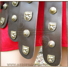 Musculata Thorax / Cuirass - Steel with Pteruges