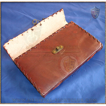 Leather Journal 25cm x 18cm - Swing Clasp