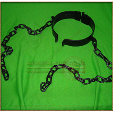 Neck shackle and chains