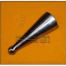 Metal Chape for scabbard - medium