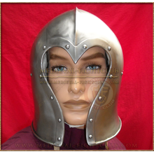 Heart shaped Barbute Combat Helmet