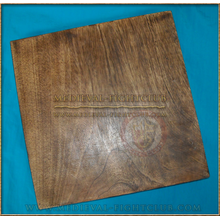 Wooden Square serving board - 12 inch