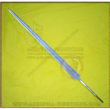 Blade - Tempered Sword Blank - distal taper