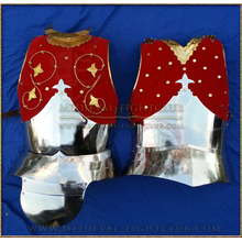 Royal Cuirass / Breastplate and faulds