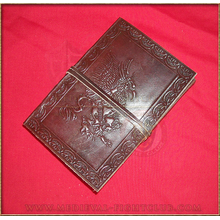 Gryphon  Leather Journal 10cm x 15cm