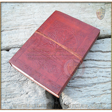Leather Journal - Tree of Life - large