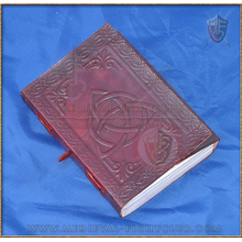 Leather Journal - Triquetra