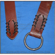 Medieval Iron Ring Belt