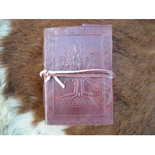 Tree of Life Leather Journal 10cm x 15cm